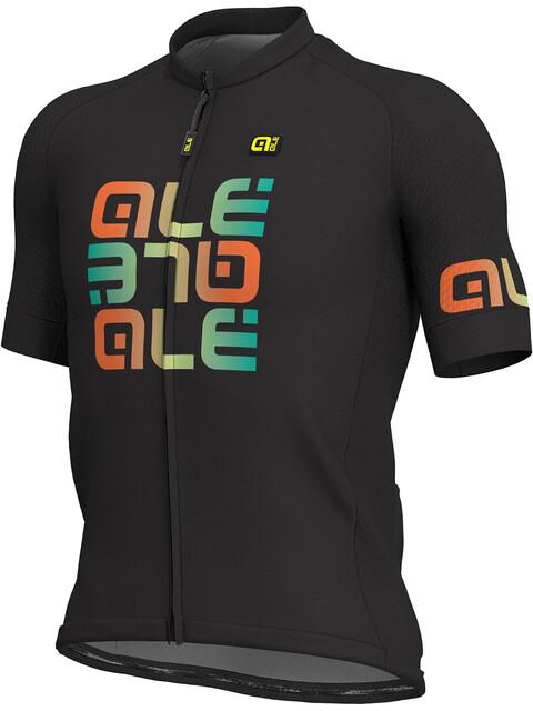 Alé Cycling Solid Mirror SS Jersey Men black